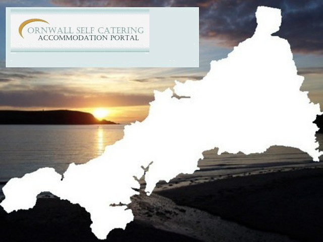 Cornwall self catering map